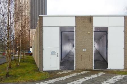 Doina Kraal, PARTICLE HUNT (voormalig deeltjesversneller Amsterdam Science Park), 2016. Foto: Polle Willemsen